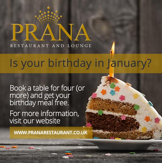b021ed0de44 Birthday Offer at Prana - Prana Restaurant
