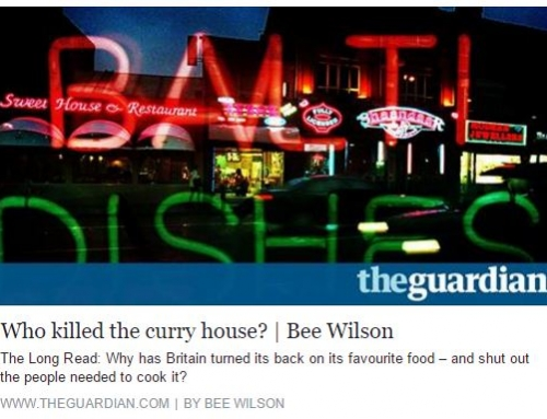 Kobir Ahmed of Prana Indian Restaurant featured in the Guardian