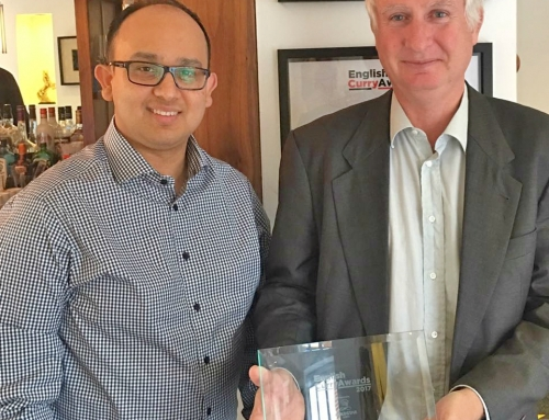 Daniel Zeichner MP celebrates Prana Indian Restaurants awards achievements.
